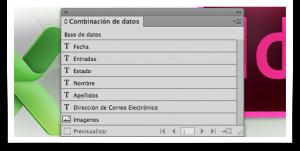 InDesign-Excel-y-XML-4 Combinación de datos