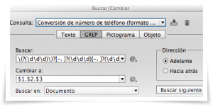 Comandos GREP en Adobe InDesign - 2