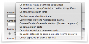 Comandos GREP en Adobe InDesign - 1