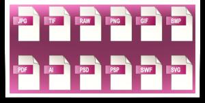 La necesidad de usar archivos TIFF - comparación